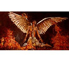 Phoenix bird from ashes Photographic Print