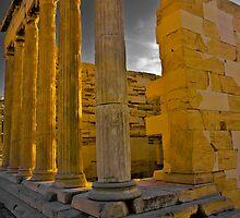 East Side of the Erechtheum, Greece by photosbyflood