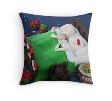 May your Christmases be merry and bright and may all your cakes be luscious and light. Throw Pillow
