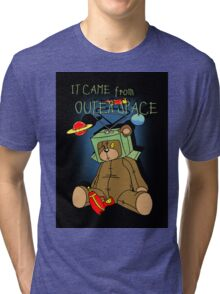 It Came from Outer Space - in technicolor Tri-blend T-Shirt
