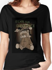 It Came from Outer Space - in sepiatone Women's Relaxed Fit T-Shirt