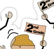 Second Grade Rocks Sticker