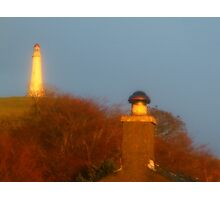 The Hoad through my Window Photographic Print