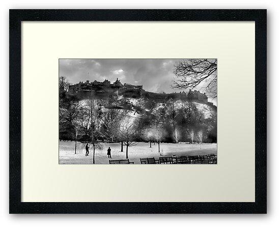 Edinburgh Castle  by Chris Clark