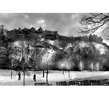 Edinburgh Castle  Photographic Print