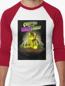 Creature from the Bleurgh Lagoon - in technicolor Men's Baseball ¾ T-Shirt