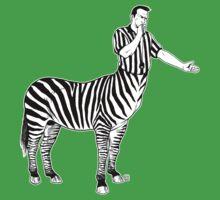 Zebra Centaur One Piece - Short Sleeve
