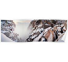 Crystal Falls, Mt Buffalo, Victoria, Australia Poster