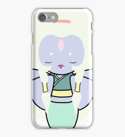 Opal Kokeshi Doll iPhone Case/Skin
