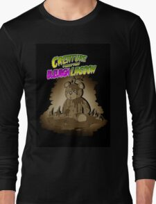 Creature from the Bleurgh Lagoon - in Sepiatone Long Sleeve T-Shirt