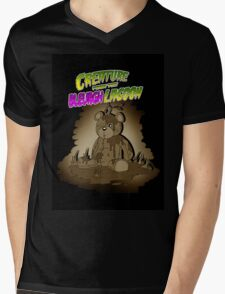 Creature from the Bleurgh Lagoon - in Sepiatone Mens V-Neck T-Shirt