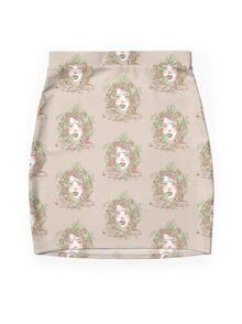 Peppermint Girl Mini Skirt
