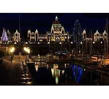 Christmas in the Harbour Photographic Print