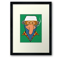 Gonzo Journalism Framed Print