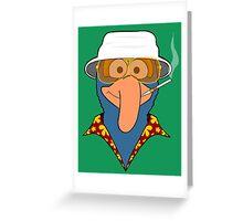 Gonzo Journalism Greeting Card
