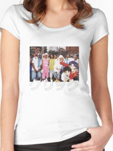 Dipset x Evangelion x Clique Women's Fitted Scoop T-Shirt