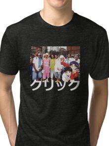 Dipset x Evangelion x Clique Tri-blend T-Shirt