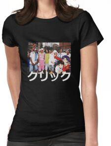 Dipset x Evangelion x Clique Womens Fitted T-Shirt