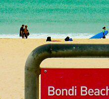 Bondi Beach, Sydney, Australia - Gary Roberts by Anthony Sarow