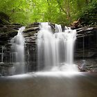Blissful Summer Evening Below Wyandot Falls by Gene Walls