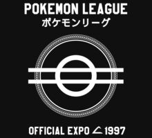 Pokemon League Official Expo, 1997 Ltd ed.[white]  by auddi