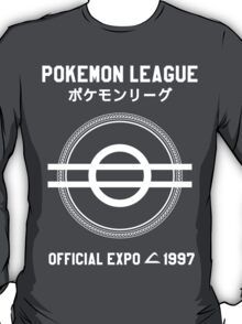 Pokemon League Official Expo, 1997 Ltd ed.[white]  T-Shirt