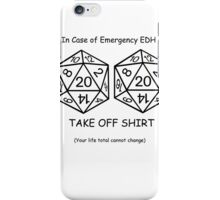 EDH Challenge  iPhone Case/Skin