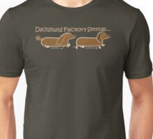Dachshund Factory Settings Unisex T-Shirt