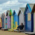 Feeling Blue-Brighton ,Melbourne,Australia by patcheah