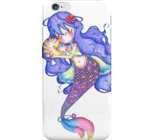 Mermaid White Version iPhone Case/Skin