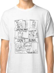 Weeping Angel Comic Classic T-Shirt