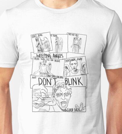Weeping Angel Comic Unisex T-Shirt