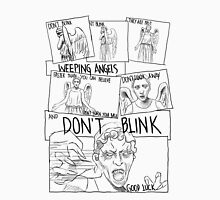 Weeping Angel Comic Unisex T-Shirt