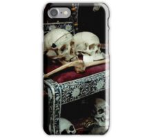 Skulls and Bones on the Throne iPhone Case/Skin
