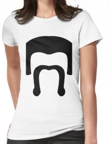 Barbarian Face Icon - COC (Clash of Clans) Womens Fitted T-Shirt