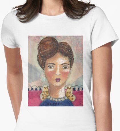 Seeker Womens Fitted T-Shirt