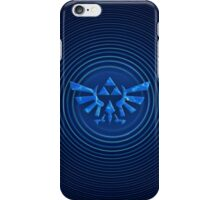 ZELDA Blue Triforce iPhone Case/Skin