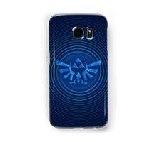 ZELDA Blue Triforce Samsung Galaxy Case/Skin