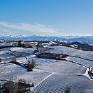Snow landscape in Piemonte by Karen Havenaar