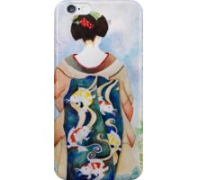 Leaping Koi Maiko iPhone Case/Skin