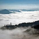 Denice in the mist by Karen Havenaar