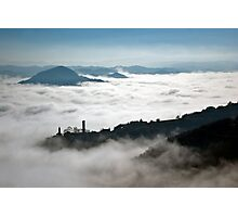 Denice in the mist Photographic Print