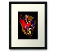 superhero x1 Framed Print