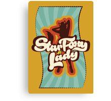 Star Foxy Lady Canvas Print