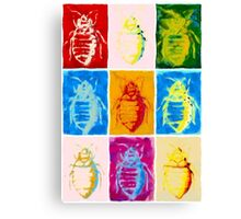 9 bed bugs Canvas Print
