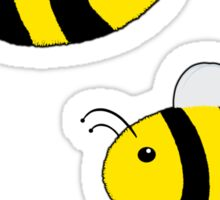 Triple Bee Sticker