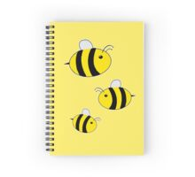 Triple Bee Spiral Notebook