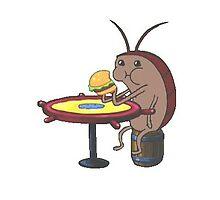 Spongebob Cockroach Eating A Krabby Patty by jsilvs96