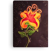Flower Gleam and Glow Canvas Print