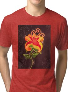 Flower Gleam and Glow Tri-blend T-Shirt